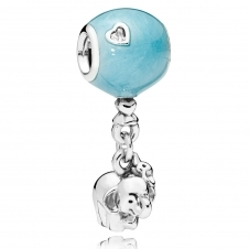 Elephant and Blue Balloon Charm 797239EN169