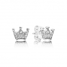 Enchanted Crowns Stud Earrings 297127CZ