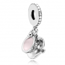 Enchanted Tea Cup Pendant Charm 797064EN160