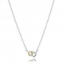 Entwined Hearts Necklace 590517-45