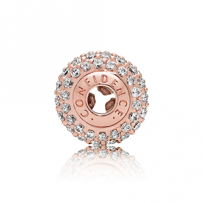 PANDORA ESSENCE Rose Confidence Charm 786304CZ