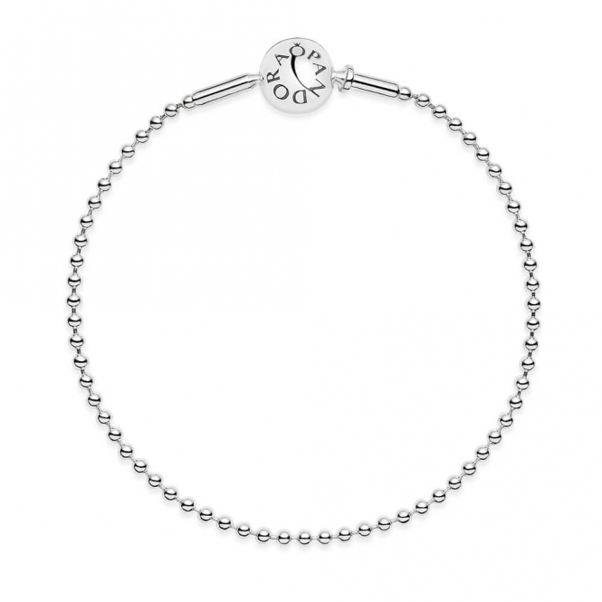 PANDORA ESSENCE Silver Ball Chain Bracelet 596002