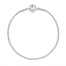 Pandora ESSENCE Collection Silver Ball Chain Bracelet