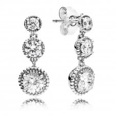 Eternal Elegance Drop Earrings 290742CZ