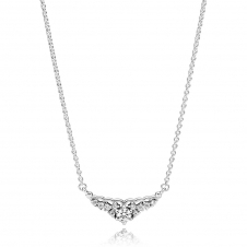 Fairytale Tiara Necklace 396227CZ-45