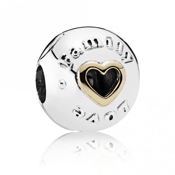 PANDORA Family and Love Clip Charm 792110