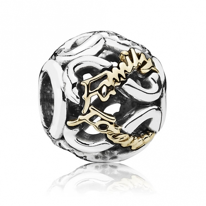 PANDORA Family Forever Openwork Charm 791525CZ