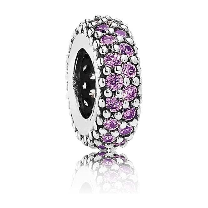 PANDORA Fancy Purple Pave Inspiration Spacer 791359CFP