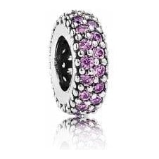 Fancy Purple Pave Inspiration Spacer 791359CFP