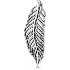 Feather Necklace Pendant 390350CZ