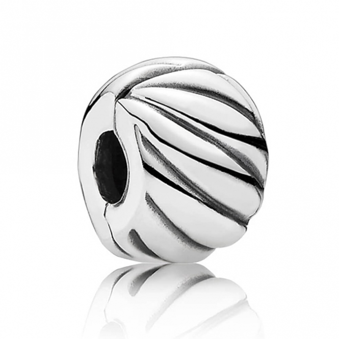PANDORA Feathered Clip Charm 791752