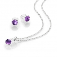 February Birthstone Droplet Gift Set B800369