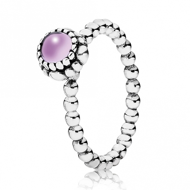 PANDORA February Birthstone Ring 190854AM