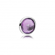 February Droplet Petite Locket Charm 792175SAM