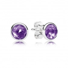 February Droplets Stud Earrings 290738SAM