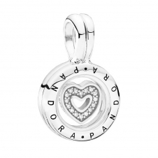 Floating Locket Pendant Charm 792144CZ