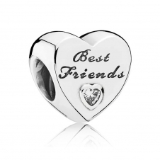 Friendship Heart Charm 791727CZ