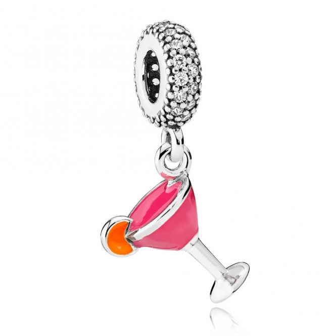 PANDORA Fruity Cocktail Pendant Charm 792153ENMX