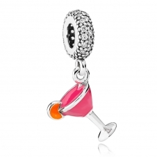 Fruity Cocktail Pendant Charm 792153ENMX