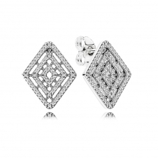 Geometric Lines Earrings 296208CZ
