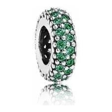 Green Pave Inspiration Spacer 791359CZN
