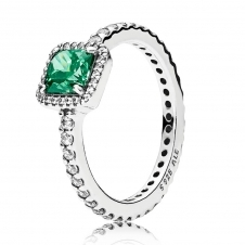 Green Timeless Elegance Ring 190947GCZ