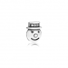 Happy Snowman Petite Locket Charm 796383CZ