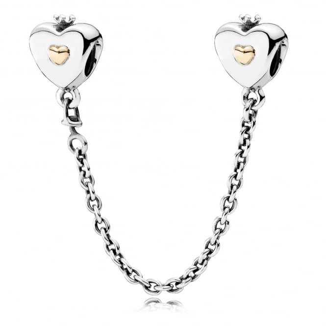 PANDORA Heart and Crown Safety Chain 791878