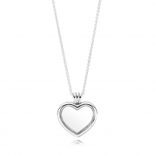 Heart Locket Necklace 590544-60