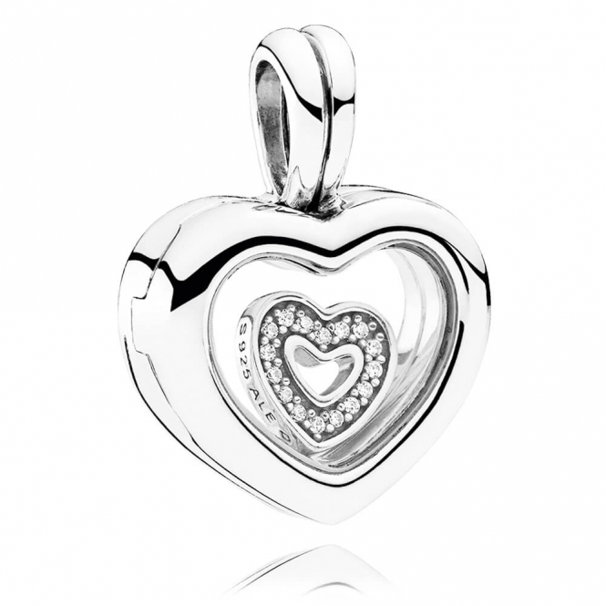 PANDORA Heart Locket - Small 792111CZ