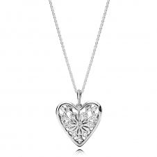 Heart of Winter Necklace 396369CZ-80