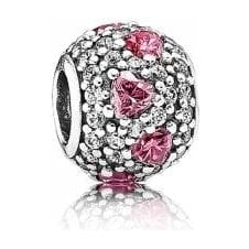 Heart Pave Ball Charm 791249CZS