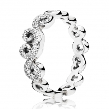Heart Swirls Ring 197117CZ