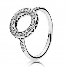 Hearts Halo Ring 191039CZ