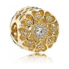 Hearts of Gold Charm 750841CZ