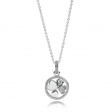 Hearts of Love Necklace 390405CZ-70