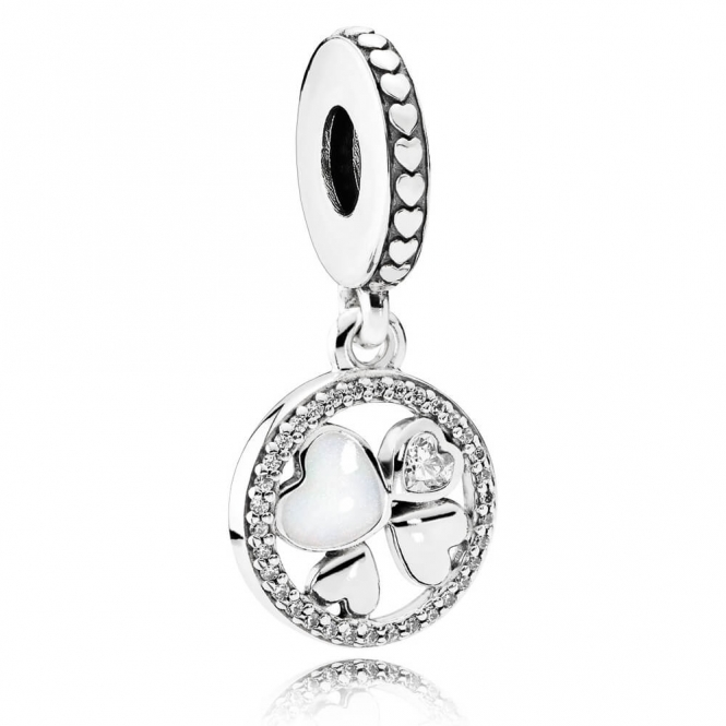PANDORA Hearts of Love Pendant Charm 792104CZ
