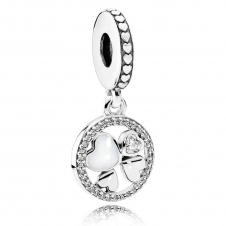 Hearts of Love Pendant Charm 792104CZ