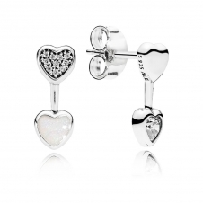Hearts of Love Stud Earrings 290750CZ