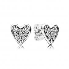 Hearts of Winter Stud Earrings 296368CZ