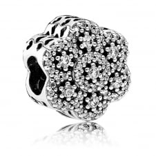 Ice Floral Charm 791998CZ