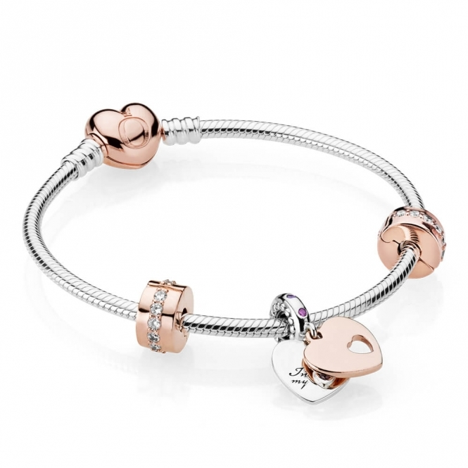 PANDORA In My Heart Bracelet B800815