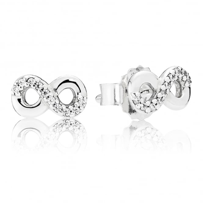 PANDORA Infinite Love Stud Earrings 290695CZ