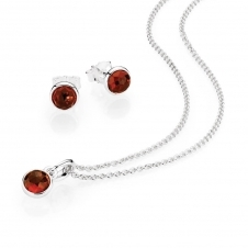 January Birthstone Droplet Gift Set B800368
