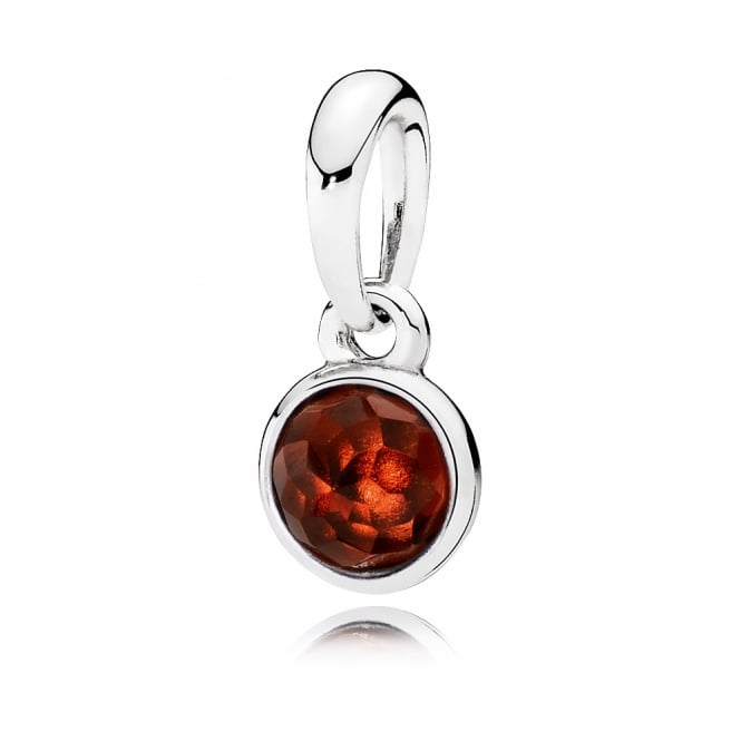 PANDORA January Droplet Pendant 390396GR