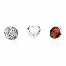 January Petites Locket Charm 792091GR