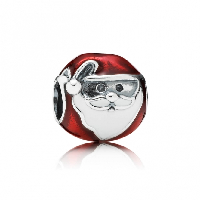 PANDORA Jolly Father Christmas Charm 791405ENMX