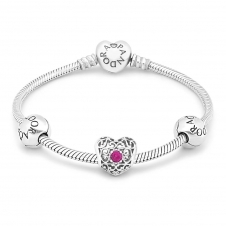 July Birthstone Bracelet B800302