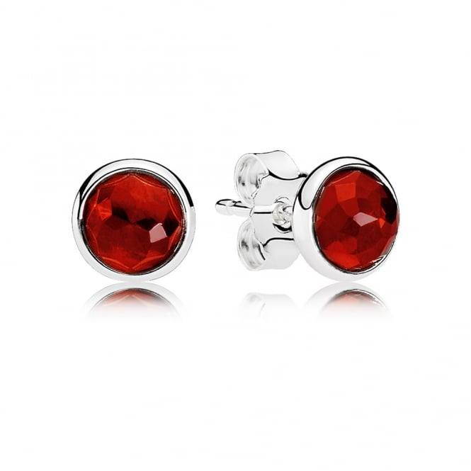 PANDORA July Droplets Stud Earrings 290738SRU