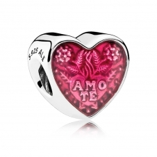 Latin Love Heart Charm 792048EN117